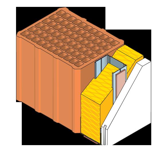 Gessi roccastrada vendita gesso tecnoboard pannelli for Isolamento termico pareti interne